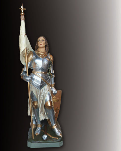 saint joan of arc statue