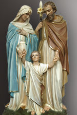 holy family statue lifesize