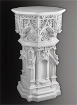 church pedestal furniture