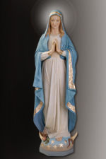 immaculate conceoption mary statue