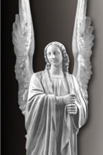 lifesize standing angel