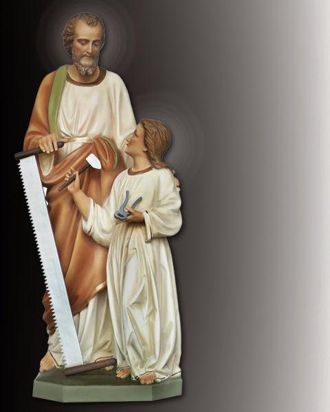 saint joseph the carpenter statue