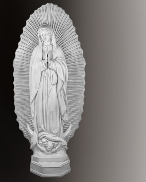 our lady of quadaloupe statue