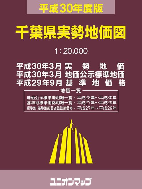 千葉県実勢地価図(平成30年度版)