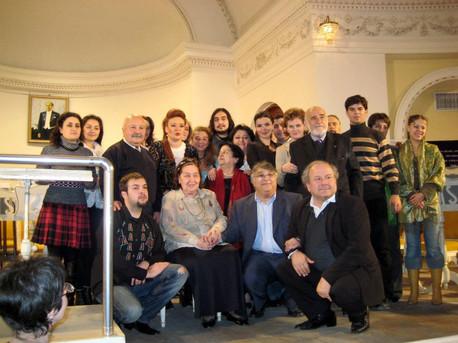 In Baku Phylharmony