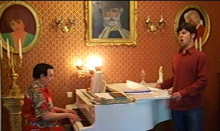 С Муслимом Магомаевым