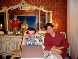 With Muslim Magomaev