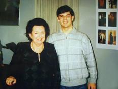 With G.Vishnevskaya