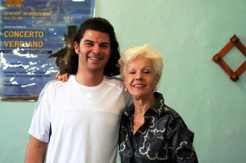 With Raina Kabaivanska