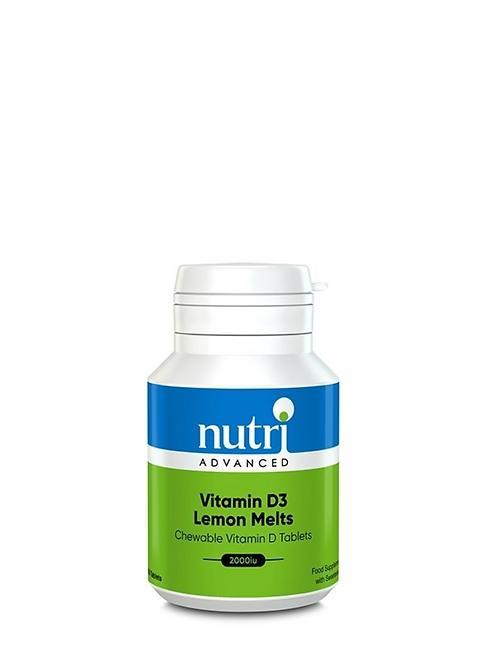 Vitamin D Lemon Melts 120 tabs
