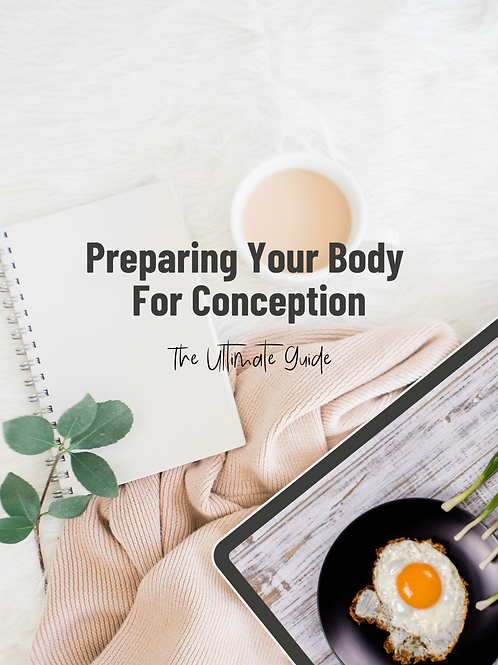 Pre-Conception e-Book
