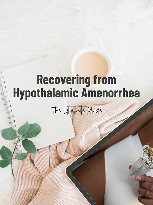 Recovery from Hypothalamic Amenorrhea e-Book