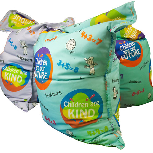 KristiKollectionsLLC Inspirational Bean Bag Cover & Liner: Ages 6-9