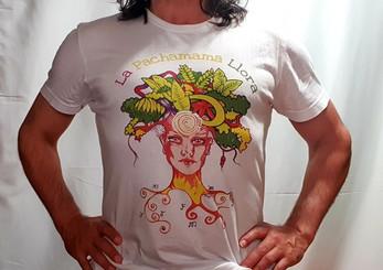 Camiseta Exclusiva La Pachamama Llora