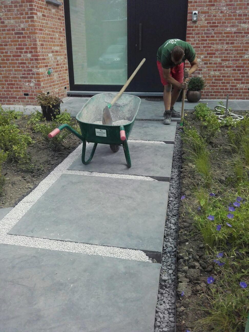 Verhardingswerken Grind en beton