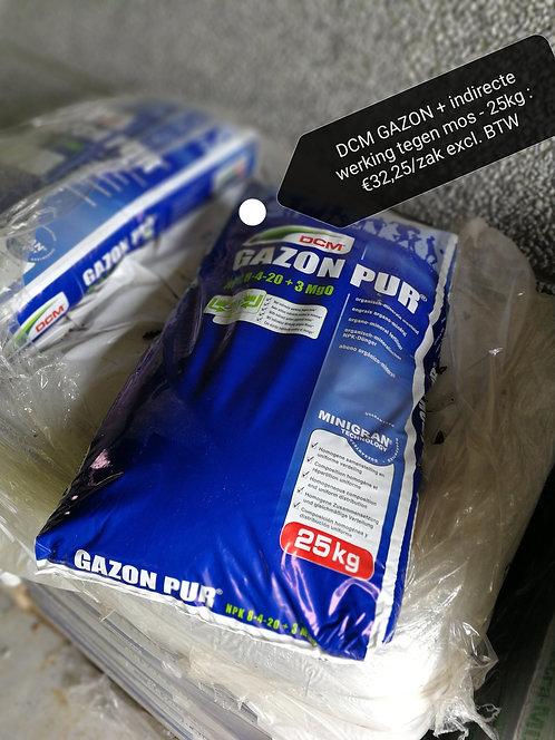 DCM GAZON + indirecte werking tegen mos - 25kg