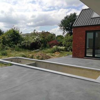 betonverharding Antraciet