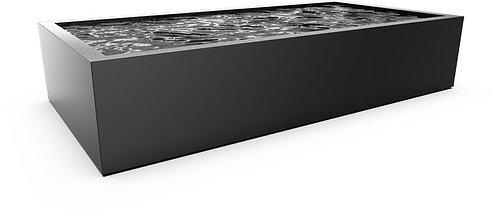 Aluminium vijver 2000 x 1000mm