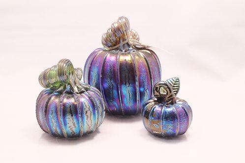 Fumed Pumpkin Set