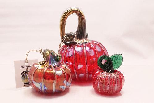 Red Pumpkin Set