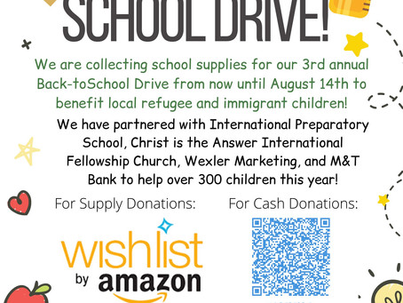2021 Back to School Drive