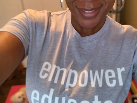 Empower T-shirts available now!!