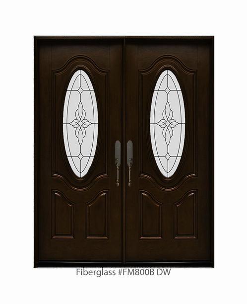 Fiberglass Double Door 611/2\