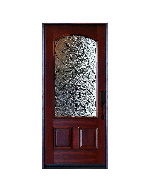"""Exterior Wood Door #M002 37 1/4""""W x 81""""H"""