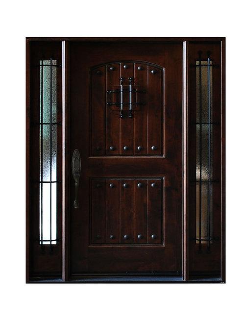"Exterior Wood Door #KA-MCD 61 1/4"" x 81"""