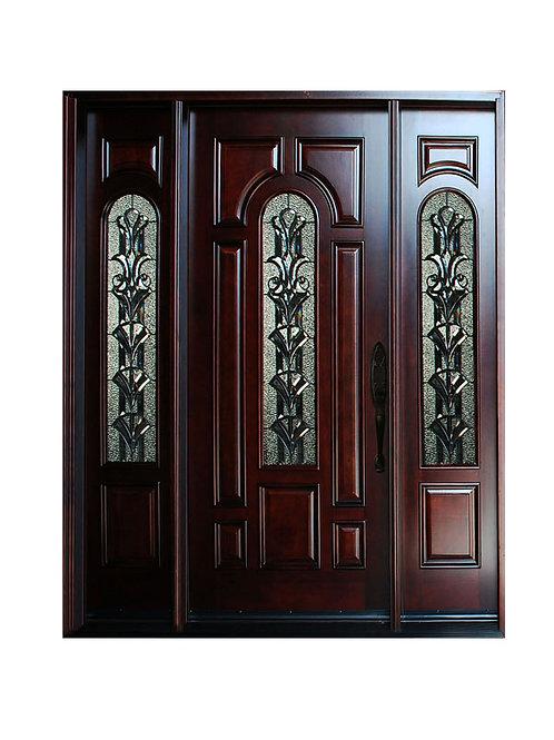 Wood Door #M280A 1d2s