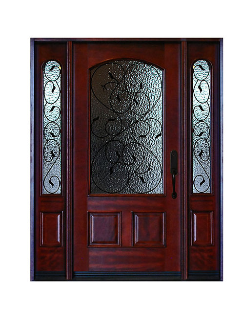 """Exterior Wood Door #M002 61 1/4""""W X 81H"""