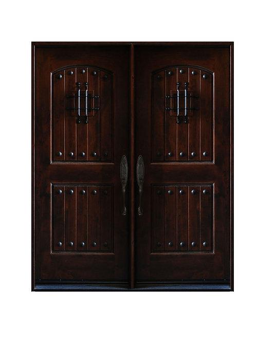 "Exterior Wood Door #KA-MCD 73 1/4"" x 81"""