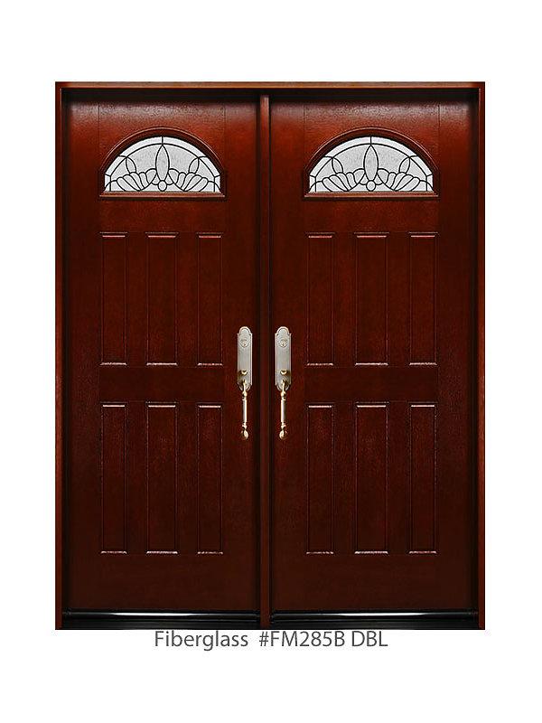 Fibergl Double Door 611/2