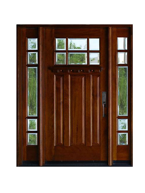 Exterior Wood Door #MK36