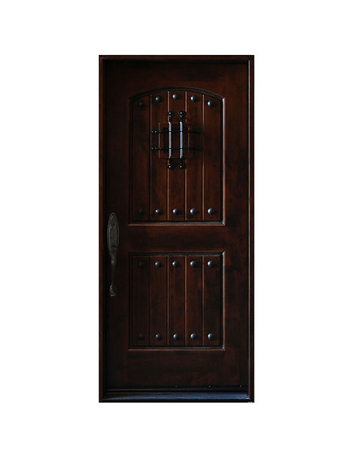 "Exterior Wood Door #KA-MCD-37 1/4"" x 81"""