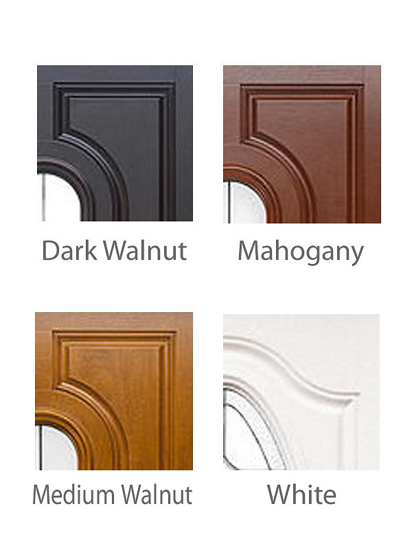 fiberglass exterior entry door actual unit size 61 12 x 81 73 12 x 81 fits rough opening62 x 82 74 x 82 pre finished mahogany wood grain