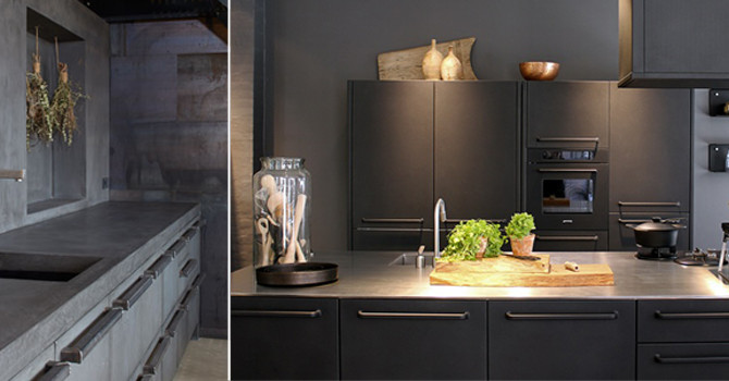 Kitchen Countertops Part IV – Concrete & Stainless Steel | Finale in a series of introductions t