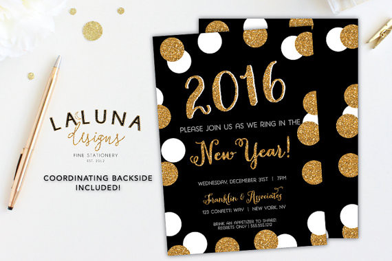 Goodbye 2015 | Usher in the new year with some party ideas