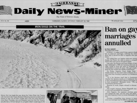 February 27, 1998: Alaska court rules for marriage plaintiffs
