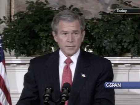 February 24, 2004: George W. Bush endorses Federal Marriage Amendment