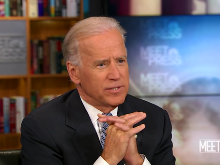 May 4, 2012: Biden announces support for gay marriage