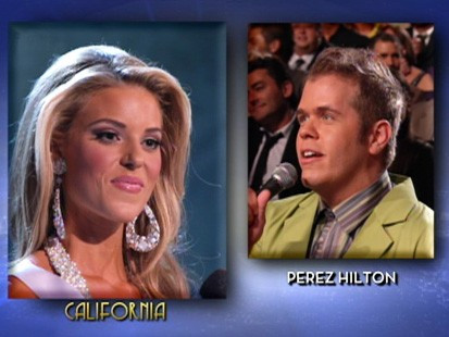 April 19, 2009: Marriage debate dominates Miss USA pageant