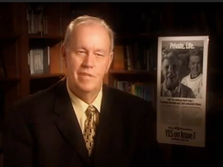 May 18, 2004: Ohio activist launches amendment campaign