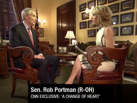 March 15, 2013: Rob Portman endorses same-sex marriage