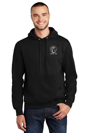 Gas Worker Fleece Pull Over Hoodie