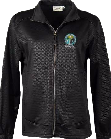 Woman's Embroidered Moisture Wicking Jacket