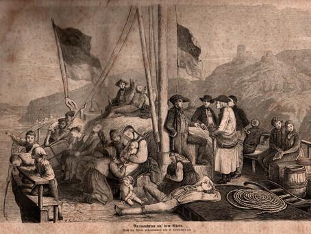 As Grandes Emigrações Europeias para as Américas