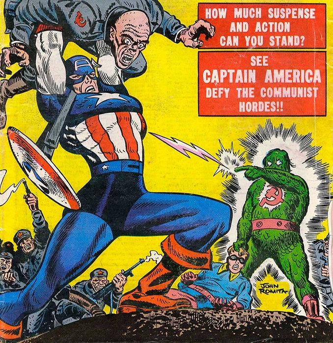Capitão América: Guerra Fria e Anticomunista nos Quadrinhos da Marvel