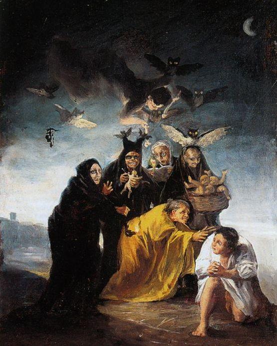 Goya pinturas noturnas
