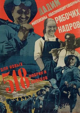 propaganda soviética mulheres